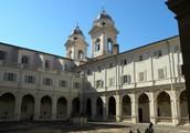Chiostro del Convento di trinità dei Monti