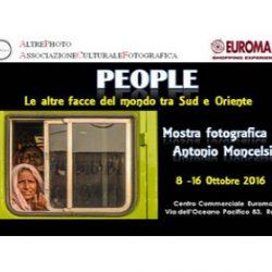 Mostra fotografica di Antonio Moncelsi - Organizzata da Al3photo - EUROMA2