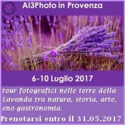 6-10 luglio 2017: tour in Provenza