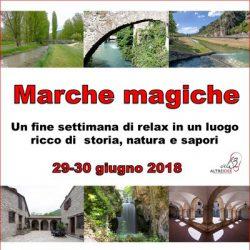 29-30 giugno 2018 Tour nelle Marche