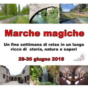 MarcheMagiche 29-30 giugno 2018