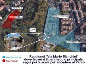 da parking di via M Bianchini al Parco Forte Ardeatino